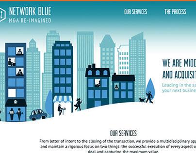 Network Blue Website Redesign