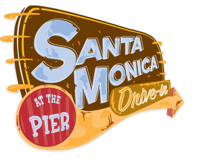 Santa Monica Drive in at the Pier