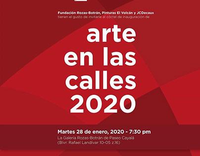 ARTE EN LAS CALLES 2020