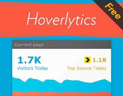 Hoverlytics. Free Hover-Over Google Analytics