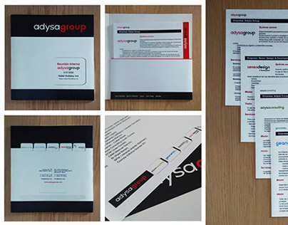 Corporate identity and stationery design