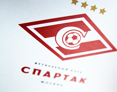 """FC """"SPARTAK"""" Moscow. Brand book. Part I."""