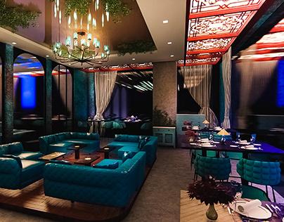 Restaurant - Interior Visualization