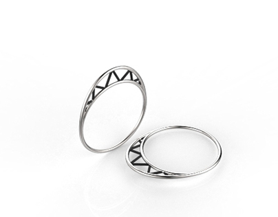 Oval Truss Ring