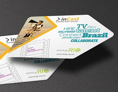 Branding Graphics for inCast.com.br