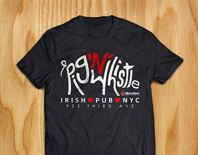Pig N Whistle on 3rd Tee Shirt