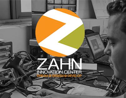 Web UI and branding for the Zahn Innovation Center