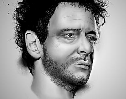 Gustavo Cerati Portrait
