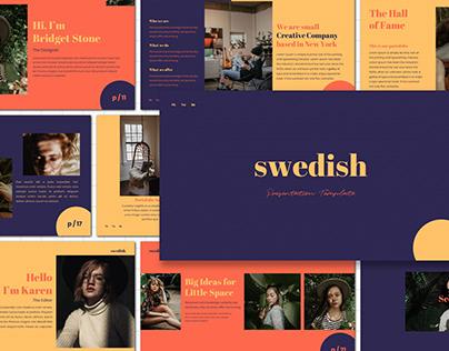 Swedish - Powerpoint Template