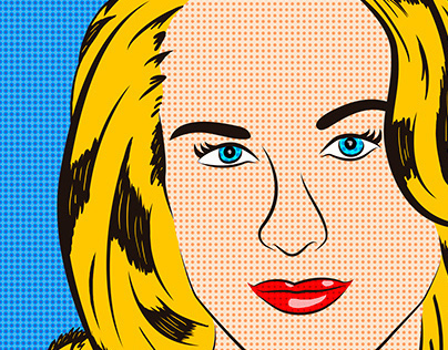 Evan Rachel Wood is now Pop Art