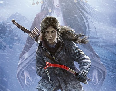 The cover for Tomb Raider 5 illustrated