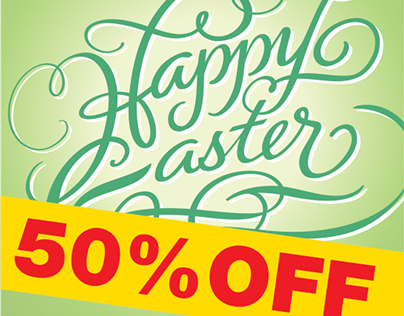 FONTS: FM Easter Pro -- 50% OFF till September 14, 2014