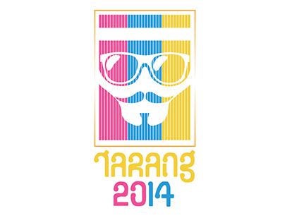 Logo and Typography Design - Tarang 2014