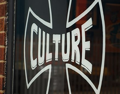 Culture Cafe Window