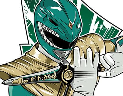 Green Ranger - Dragon Ranger