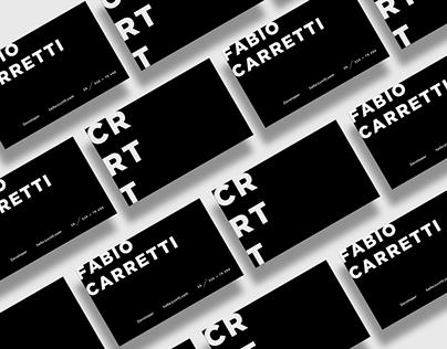 Fabio Carretti—Portfolio