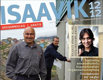 ISAAVIK - magazine