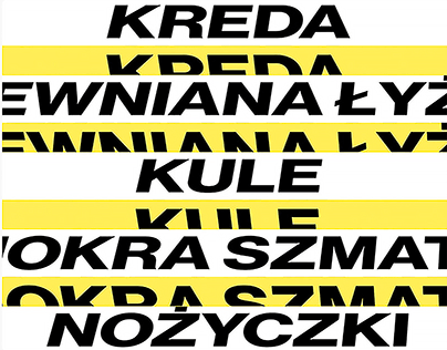 Tadeusz Kantor – motion graphics | 2019
