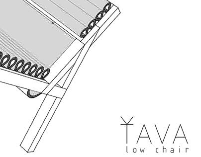 ŤAVA low chair
