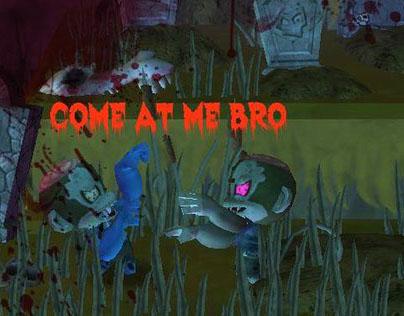 Zombie Tag Minigame Design - Monkey Quest 2013
