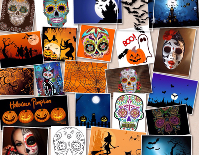 DAY OF THE DEAD MOOD BOARD