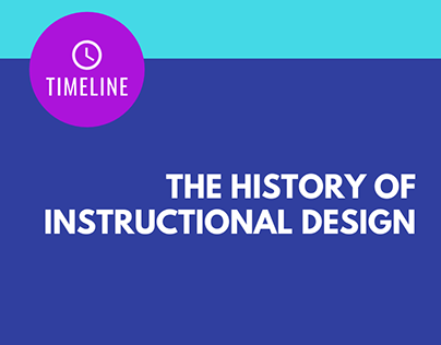 The History of Instructional Media & Design