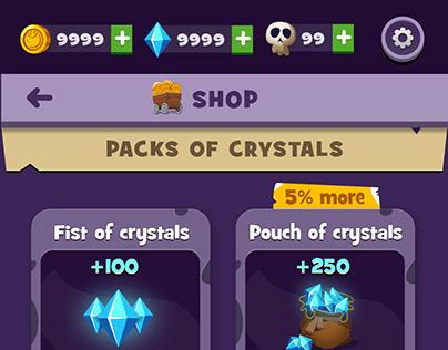Mobile Game Design | Shop