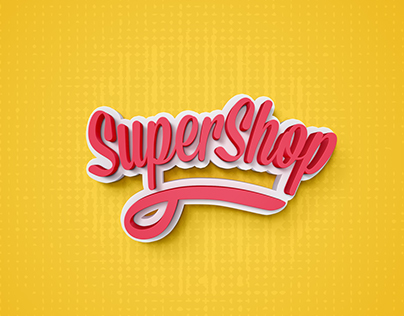 SuperShop web wireframes (網站架構視覺設計)