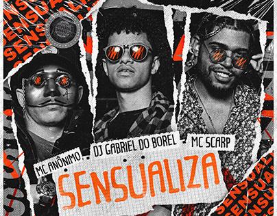 CAPA | DJ GABRIEL DO BOREL FT. MC SCARP E MC ANÔNIMO