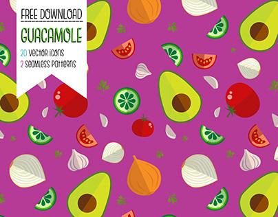 Guacamole - Pattern & Icon Set
