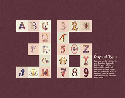 36 Days of Type ( Re- Focus )