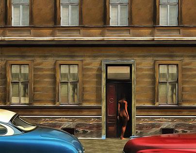 The nude in the door