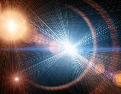 High Resolution Lens Flares