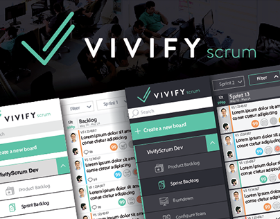 VivifyScrum - Free Scrum Tool For Professionals