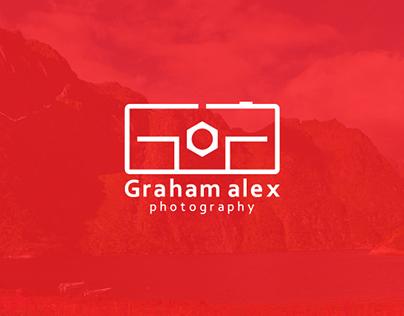 Branding of Graham Alex Photography.
