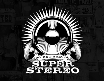 SUPER STEREO PRODUCTIONS - Logo
