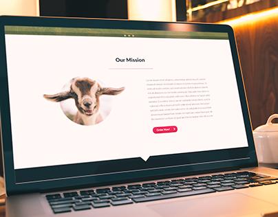 Hyper Active Happy Little Goats - Webdesign