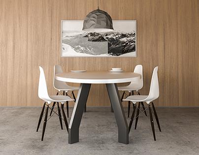 H&K table AZNAVOUR