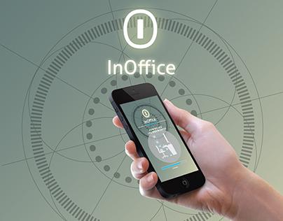 InOffice - mobile application design