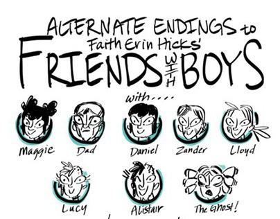 Alternate Endings to Friends With Boys