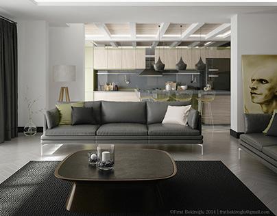Yeşilbarış Residence Design -  Ümitköy / Ankara