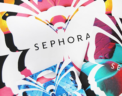 SEPHORA - Butterfly campaign