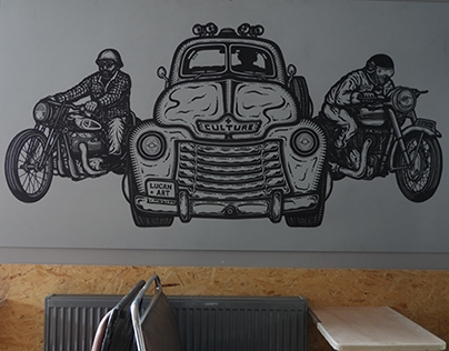 Culture Cafe Wall