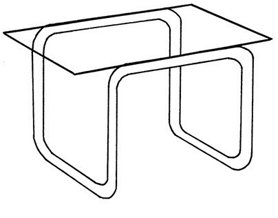 Welded Tube Table