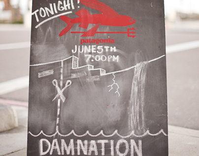 Patagonia Damnation Film Screening Video Clip