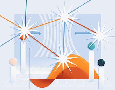 Abstract Scrum Illustrations and Icons