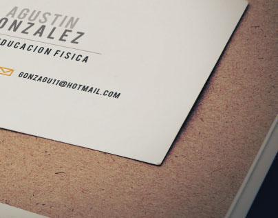 Agustin Gonzalez - Business Cards