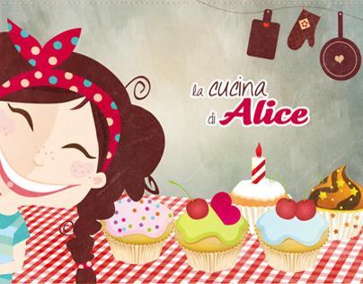 eBook -  La cucina di Alice