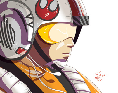 Rebel Farmboy : Luke Skywalker…