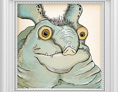 Little Fatty Monster - Character